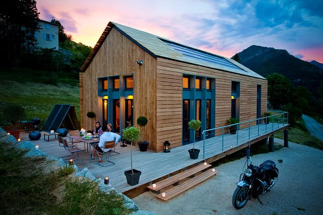 Petite maison prefabriquee maison moderne - Maison prefabriquee en bois ...