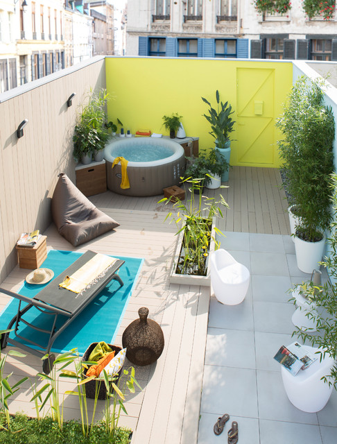 Inspire jardin 2015 for Spa gonflable exterieur