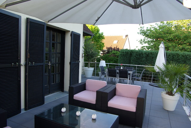 Jardin contemporain yvelines contemporary deck for Jardin contemporain