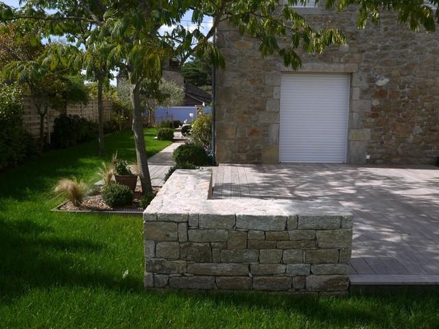 Jardin et terrasse contemporaines - Contemporary - Terrace ...