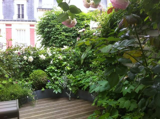 Jardins Terrasses Paris En France Suisse