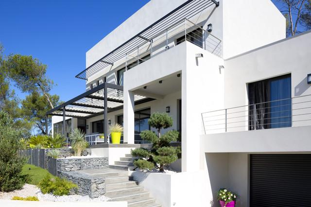 L\'élégance d\'une maison contemporaine de caractère - Contemporary ...
