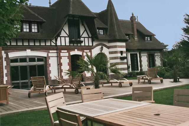 terrasse bois normandie