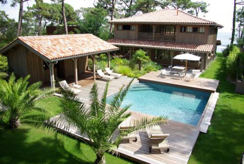 maison gp bord de mer terrasse en bois bordeaux par bdf architectes. Black Bedroom Furniture Sets. Home Design Ideas