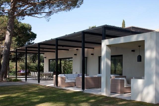 Maison individuelle, Saint-Tropez - Modern - Terrasse ...