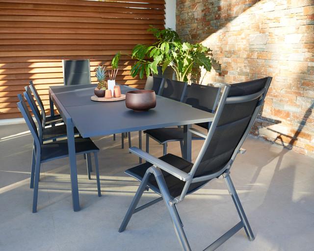 M lange carrelage et bois pour une terrasse facile vivre for Carrelage terrasse moderne