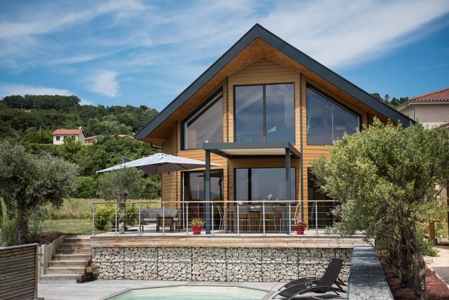 Modèle ORIANE CA - Modern - Terrasse - Lyon - von La maison ...
