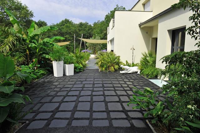 Opus croco un sol in dit moderne terrasse et patio other metro par - Sol exterieur terrasse ...