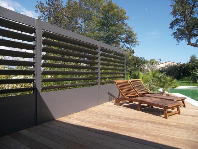 paravent lames aluminium. Black Bedroom Furniture Sets. Home Design Ideas