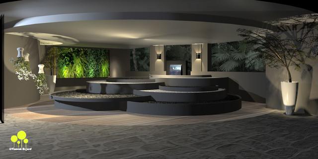patio int rieur contemporain terrasse et patio. Black Bedroom Furniture Sets. Home Design Ideas