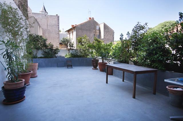 Rénovation d\'un appartement au centre de Montpellier - Méditerranéen ...