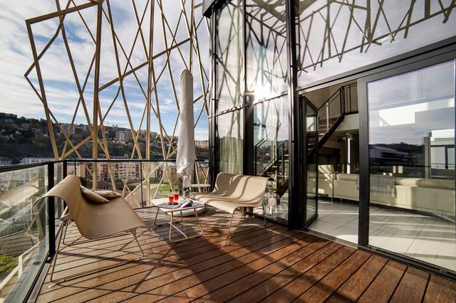 Reportage d 39 architecture agencement et d coration for Agencement balcon