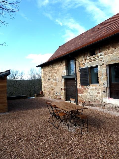 Restauration d 39 une grange en maison d 39 habitation - Transformer une grange en maison d habitation ...