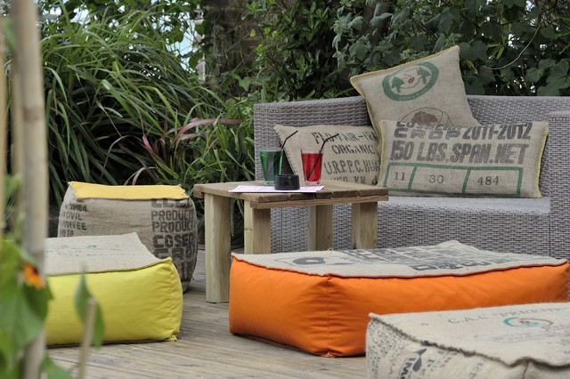 salon d 39 int rieur ou d 39 ext rieur en toile de jute campagne terrasse et patio bordeaux. Black Bedroom Furniture Sets. Home Design Ideas