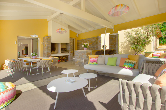 Seventies house - Midcentury - Patio - Nice - by D&K Interiors ...