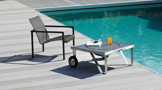 Table Basse Brasero Contemporary Deck Rennes By Happinox