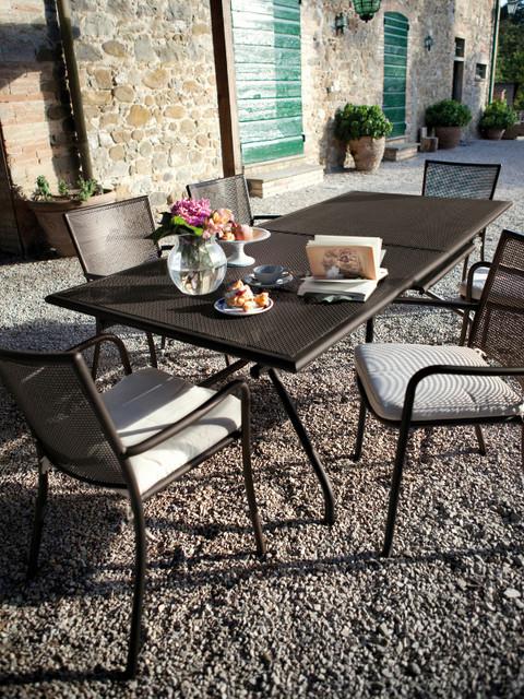 Amazing Table De Jardin Emu #10: Table De Jardin Athena Extensible Emu Dans Le Jardin  Contemporain-terrasse-et-patio