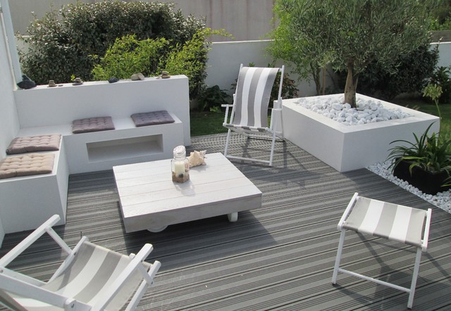 amenagement bord de terrasse at45 jornalagora. Black Bedroom Furniture Sets. Home Design Ideas