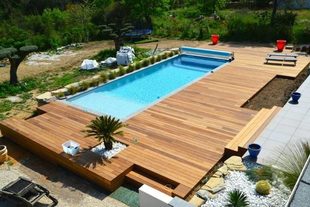 Terrasse Bois Pour Piscine Exotique Terrasse En Bois