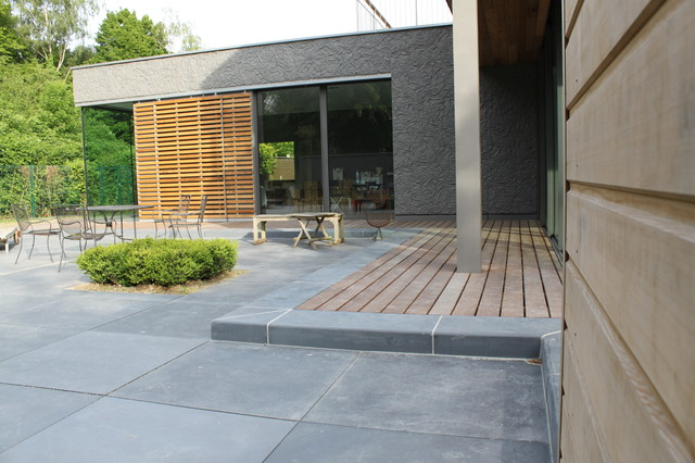 Terrasse dalle b ton xxl for Bordure fenetre beton
