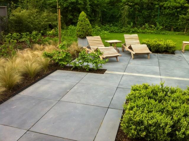 Terrasse bois ou dalle beton diverses id es de conception de p - Poser une terrasse en dalle beton ...