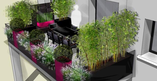 Terrasse d jeuner sur mesure terrasse en bois et balcon for Decoration exterieure fontaine terrasse