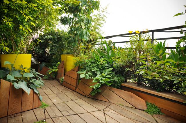 Terrasse en sol majeur / Aménagement haut de gamme