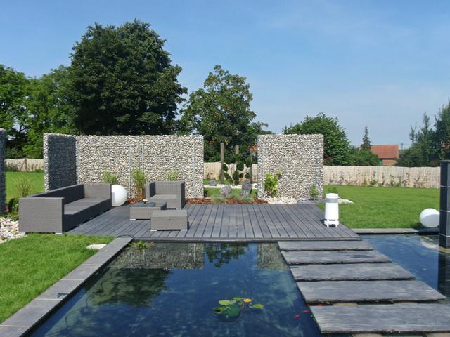 terrasse et pas japonais contemporain terrasse et. Black Bedroom Furniture Sets. Home Design Ideas