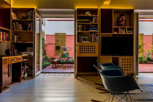 terraza en piso de madrid de rocio bardin en diariodesign