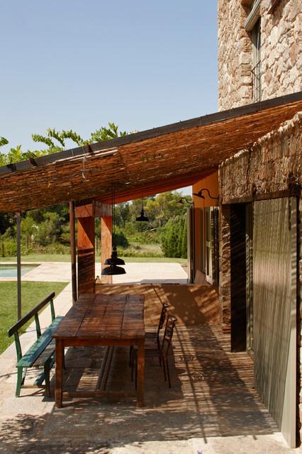 Empord country house casa de campo terraza y balc n for Fotos de terrazas de casas de campo