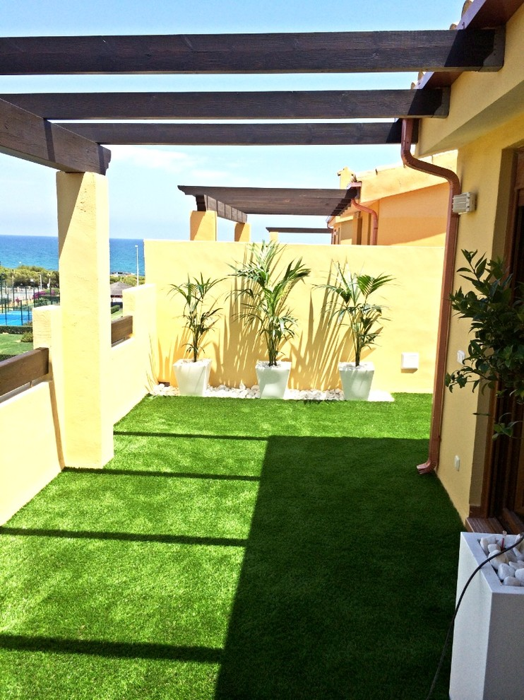 Terraza Atico Playa Transitional Deck Other By Agora