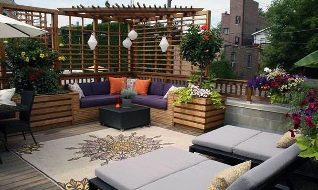 Terrazas Con Toque Chill Out Tropical Terrace Balcony