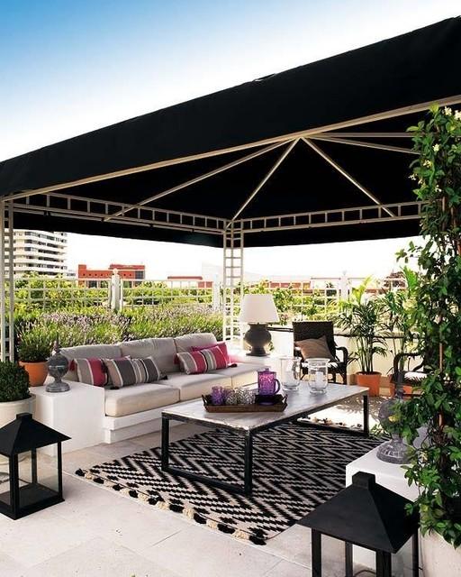 Terrazas Con Toque Chill Out Country Terrace Balcony