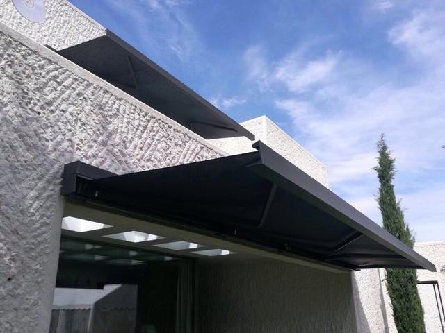 Toldos Para Casa De Diseño Moderno Terraza Y Balcón