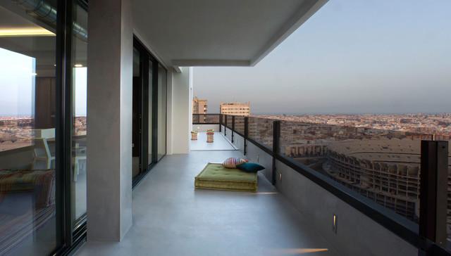 ideas terraza atico Un Tico Con Estilo Moderno Terraza Y Balcn Valencia