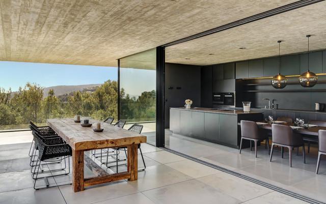 Villa boscana minimalistisch terrasse palma de mallorca