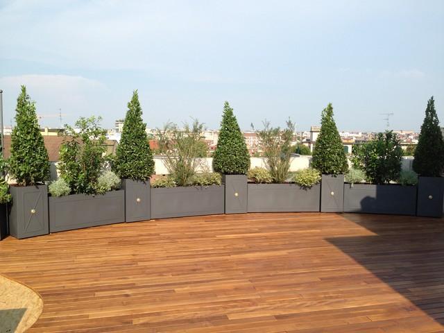 Allestimento area verde Milano