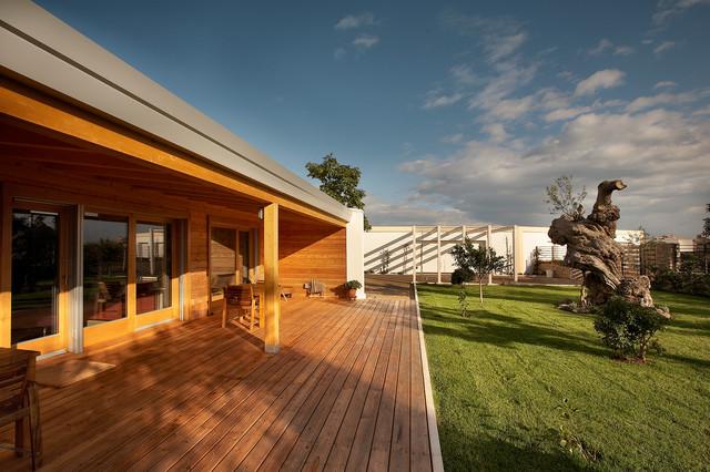 Idee per terrazze e balconi minimal