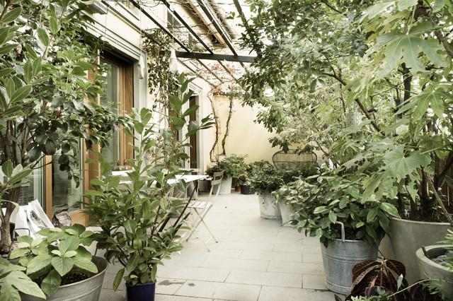 Candido interno milanese - Shabby-Chic Style - Terrazza - Milano ...