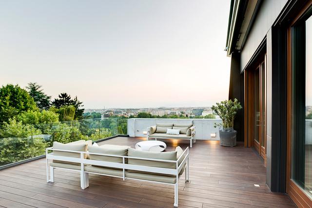 Contemporaneo Terrazzo E Balcone