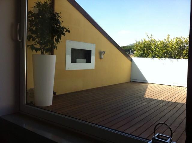 Idee per terrazze e balconi moderni