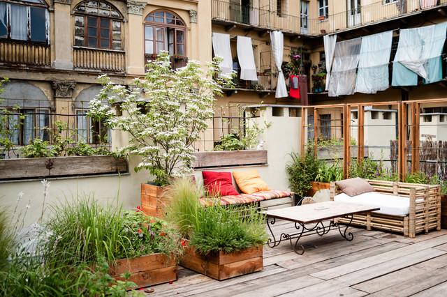 Terrazzo Torino - Shabby-chic Style - Deck - Turin - by Marta ...