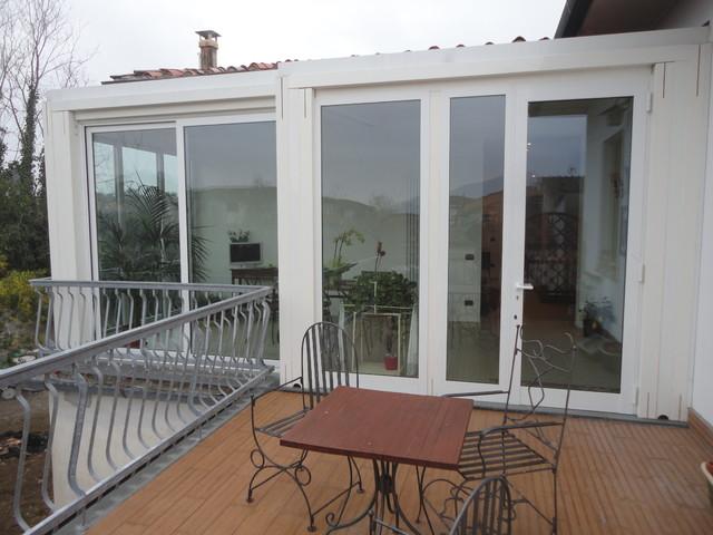 Veranda alluminio - Classico - Terrazza - Firenze - di Portebelle