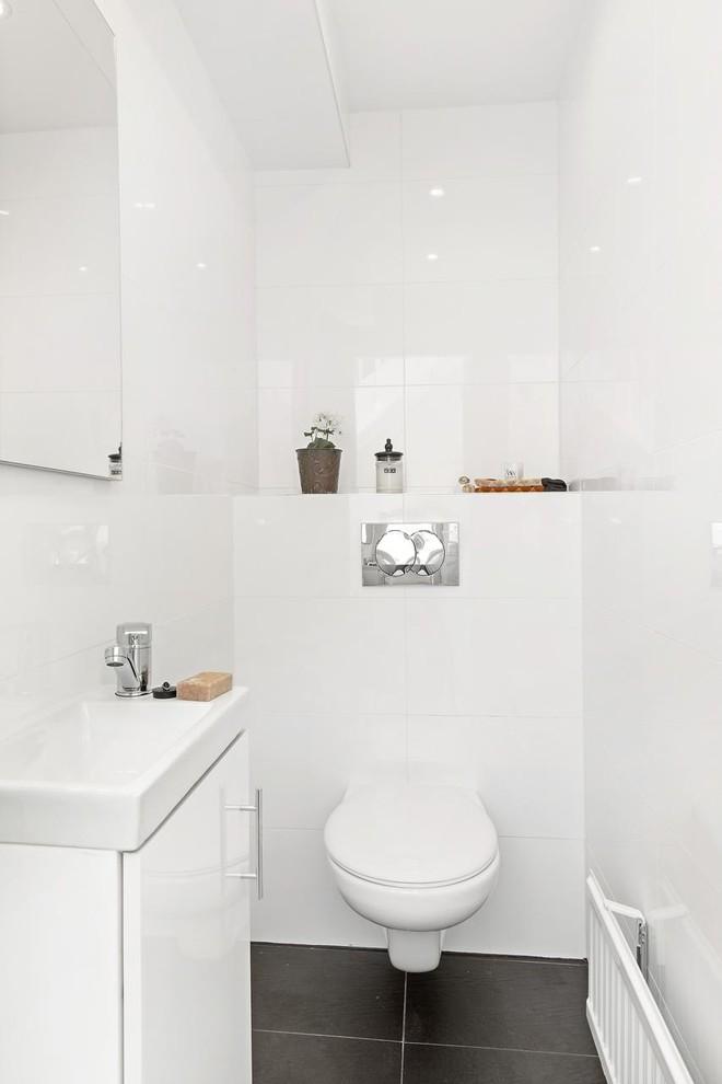 Danish powder room photo in Stockholm