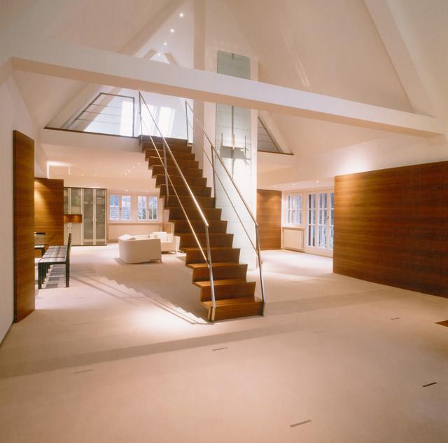 Bevorzugt Ausbau Dachgeschoss Privathaus S. - Modern - Treppen - Nürnberg HN49