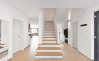 eigenheim straelen skandinavisch treppen d sseldorf. Black Bedroom Furniture Sets. Home Design Ideas