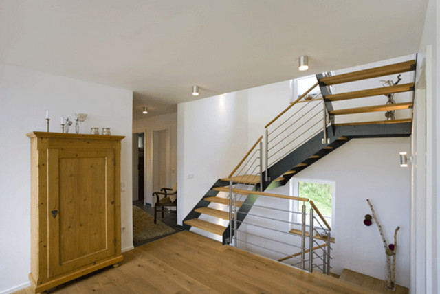 einfamilienhaus aus frammersbach treppenhaus. Black Bedroom Furniture Sets. Home Design Ideas