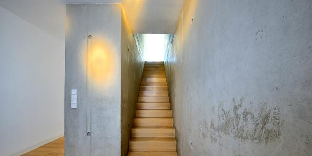 Treppen architektur einfamilienhaus  Einfamilienhaus aus Infraleichtbeton - Industrial - Treppen ...