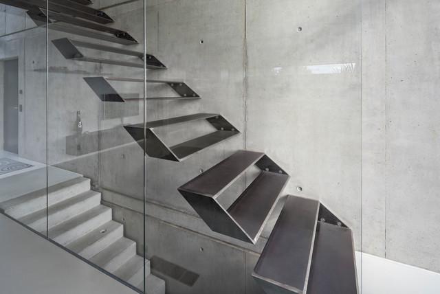 Einfamilienhaus Ro10 Contemporary Staircase Stuttgart