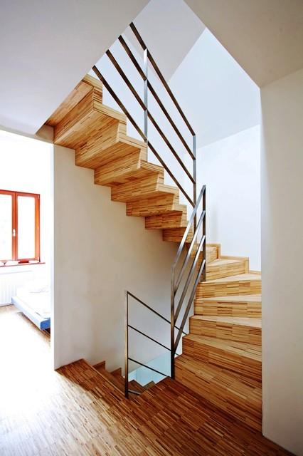 Faltwerktreppe Baden Baden Contemporary Staircase
